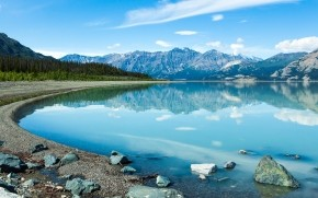 Reflection In The Yukon wallpaper