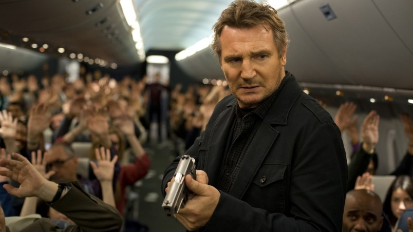 Liam Neeson Non Stop Movie wallpaper