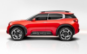 Side of Citroen Aircross Concept  wallpaper