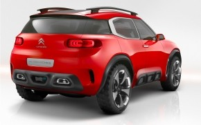 Rear of Citroen Aircross Concept  wallpaper