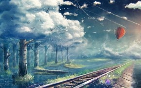 Traveling into Dreams wallpaper
