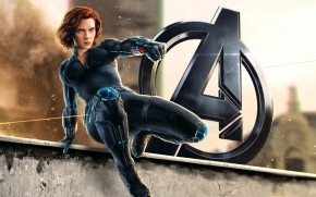 Black Widow Avengers 2 wallpaper