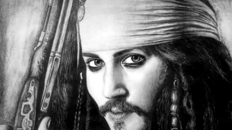 Jack Sparrow Drawing wallpaper