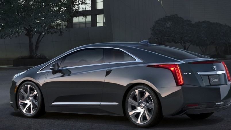 Cadillac ELR Front View wallpaper