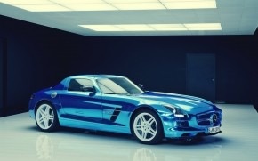 Mercedes-Benz SLS Electric Drive wallpaper
