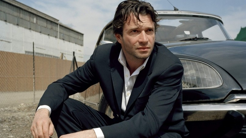James Purefoy in a Black Suit wallpaper