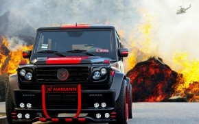 Hamann Typhoon G55 AMG wallpaper