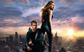 Divergent Four and Tris wallpaper