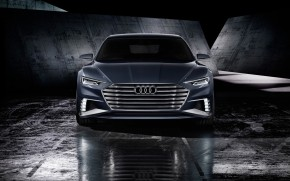 Audi Prologue Avant Front View wallpaper