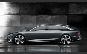 Audi Prologue Side View wallpaper