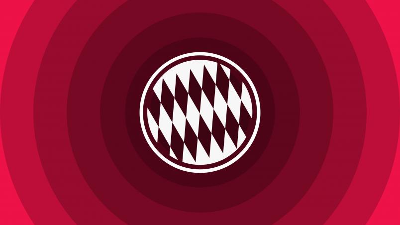 FC Bayern Munich Minimal Logo Wallpaper