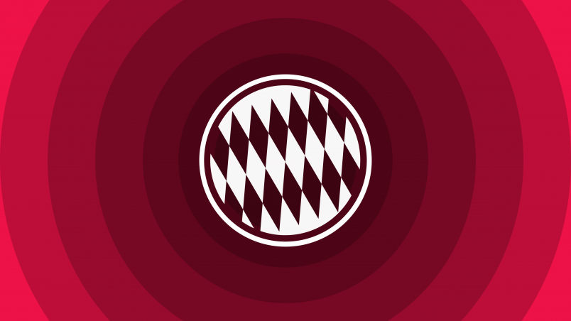 Fc Bayern Munich Minimal Logo Hd Wallpaper Wallpaperfx