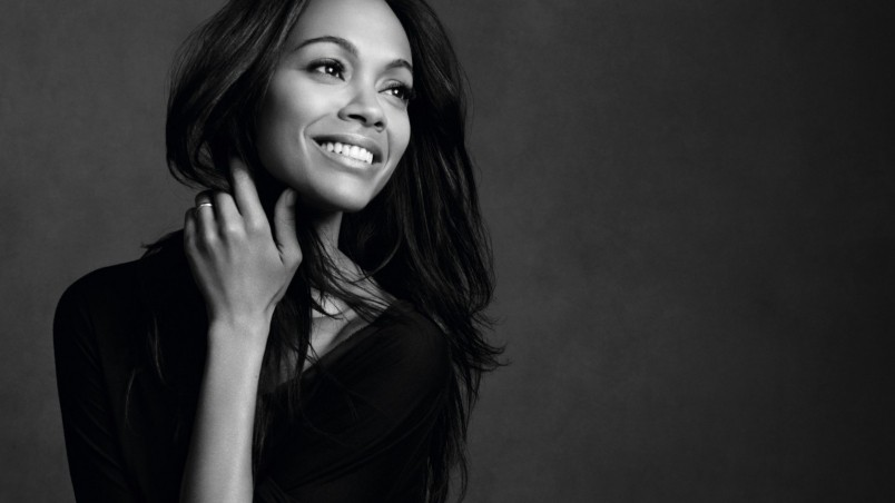 Zoe Saldana Beautiful wallpaper