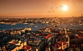 Istanbul City View wallpaper
