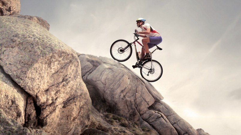 Mountain Biker wallpaper