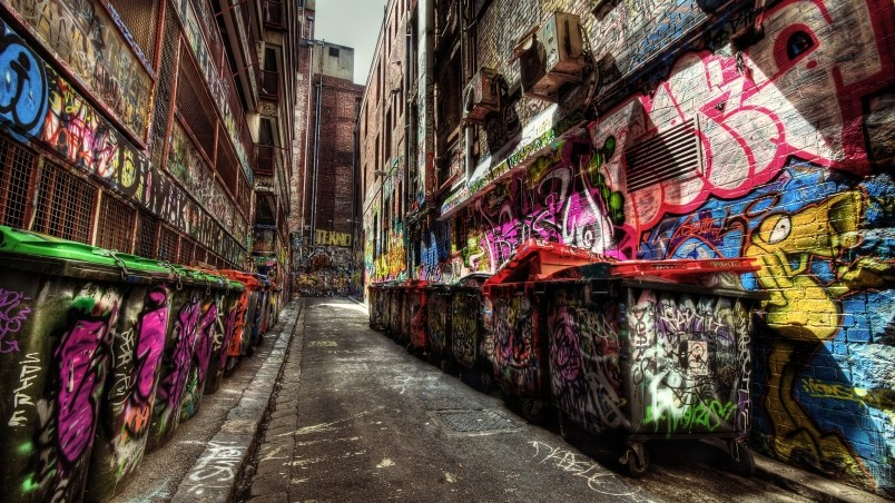 Hip Hop Graffiti Wallpaper Hd: Graffiti Everywhere HD Wallpaper