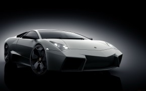 Grey Lamborghini Reventon wallpaper