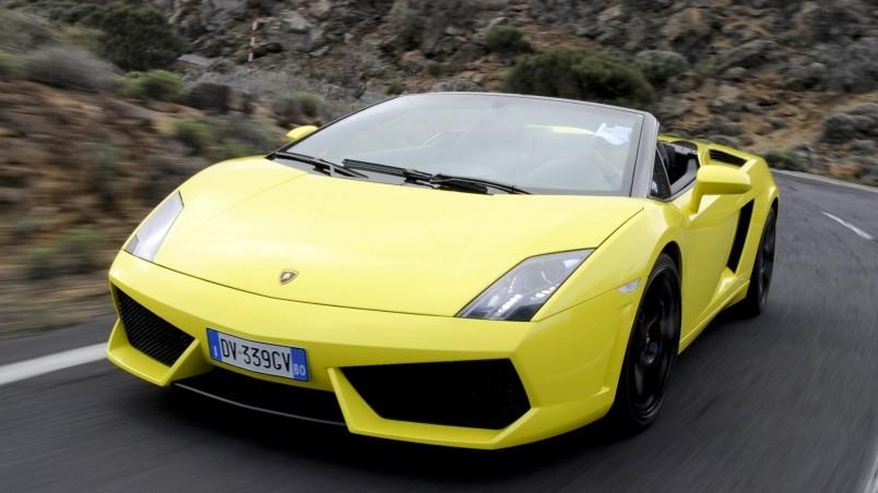 Yellow Lamborghini Gallardo LP560 4 Spyder HD Wallpaper ...