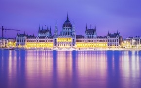 Budapest Parliament Building wallpaper