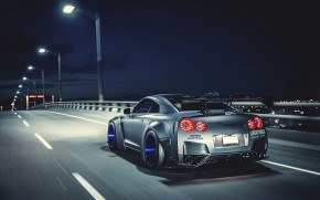 Nissan GTR Liberty Walk wallpaper