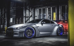 Nissan GTR Liberty Walk Tuning wallpaper
