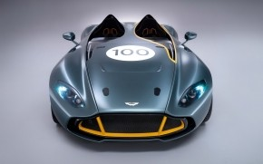 Aston Martin CC100 Speedster Front View wallpaper