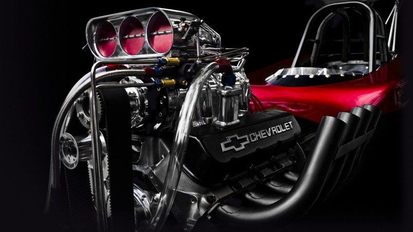 Chevrolet Engine HD Wallpaper - WallpaperFX