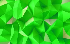 Green Triangles wallpaper
