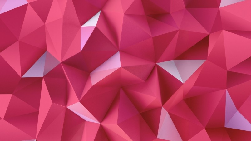 Pink Triangles wallpaper