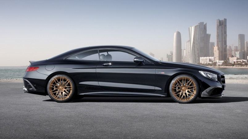 Mercedes S63 Amg Coupe >> Mercedes Benz S63 AMG Brabus Side View HD Wallpaper ...