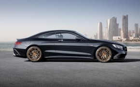 Mercedes Benz S63 AMG Brabus Side View wallpaper