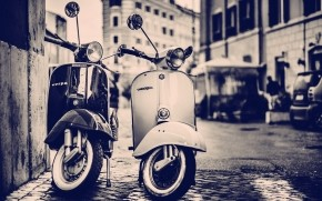 Vespa Scooters wallpaper