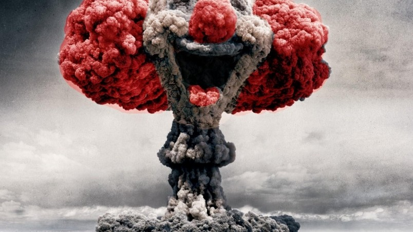 Nuclear Clown HD Wallpaper - WallpaperFX