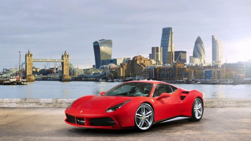 Ferrari 488 GTB 2015 wallpaper