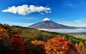 Mount Fuji Japan wallpaper