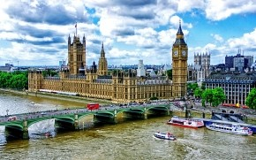 Westminster Bridge London wallpaper
