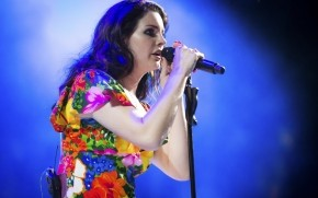 Lana Del Rey Performing Coachella