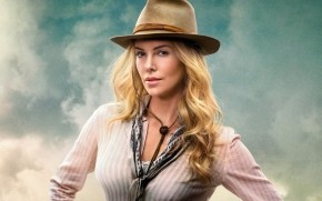Charlize Theron in A Million Ways to Die in the West wallpaper