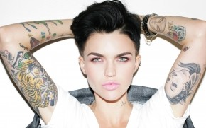 Ruby Rose Tattoos wallpaper