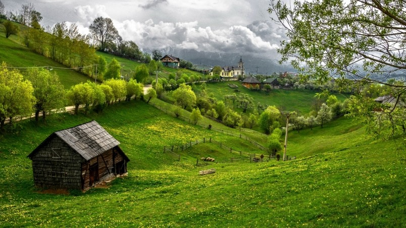 Transylvania romania hd wallpaper wallpaperfx