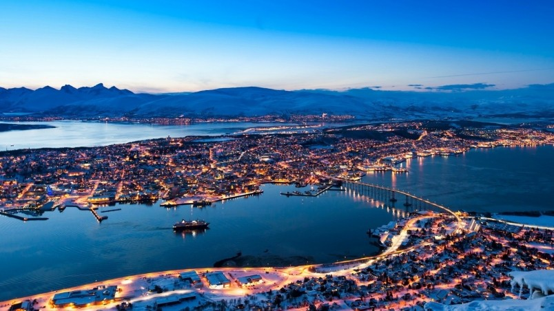 Tromso Norway Hd Wallpaper Wallpaperfx