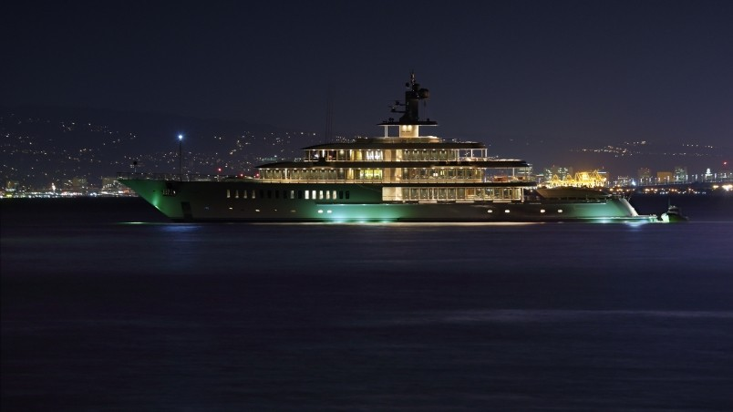 Luxury Superyacht  wallpaper