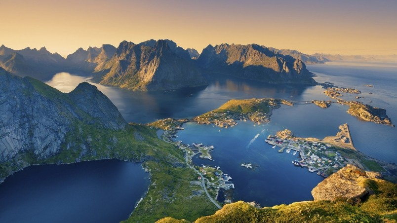 Lofoten Islands Norway Hd Wallpaper Wallpaperfx