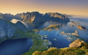 Lofoten Islands Norway wallpaper