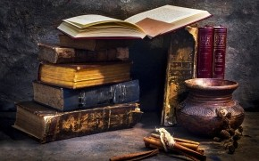Historical Books wallpaper
