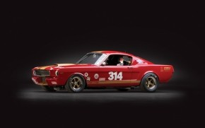 Cool Ford Mustang Shelby GT350h wallpaper