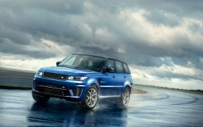 Gorgeous Blue Range Rover wallpaper