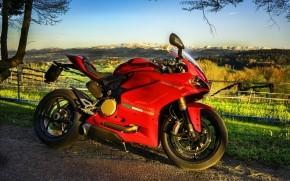 Stunning Red Ducati