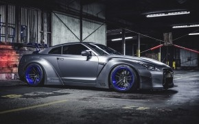Lovely Nissan GT-R Liberty Walk wallpaper