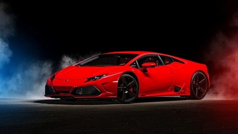 2015 Red Lamborghini Huracan Wallpaper